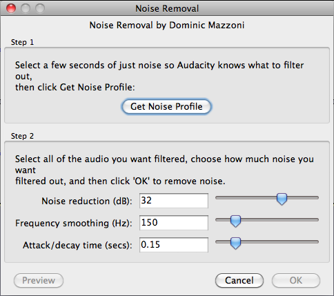 How to Remove Noise with Audacity