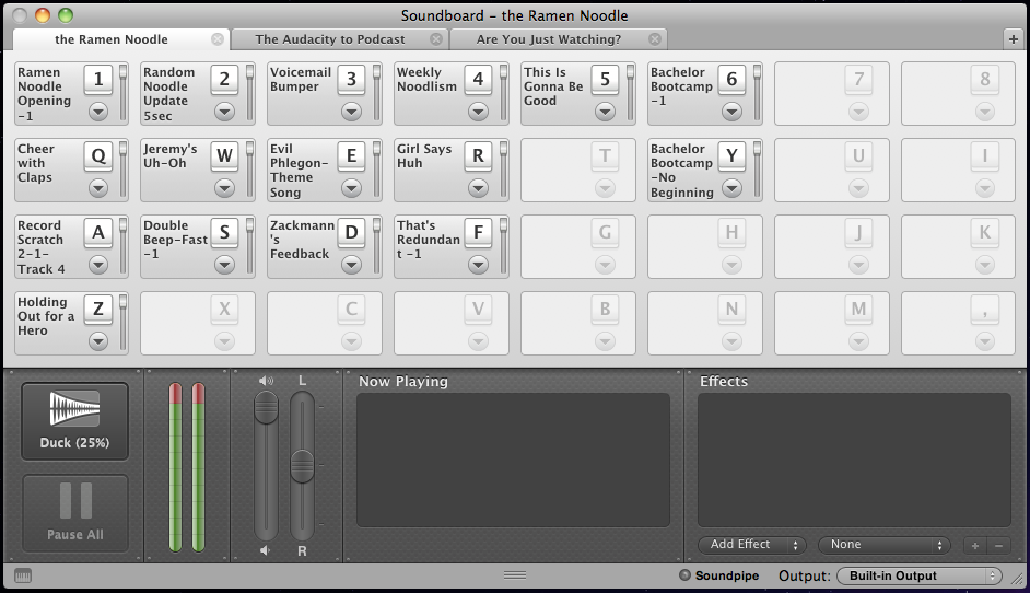 Soundboard 2 0, Podcaster's Theme for WordPress, and Pasting